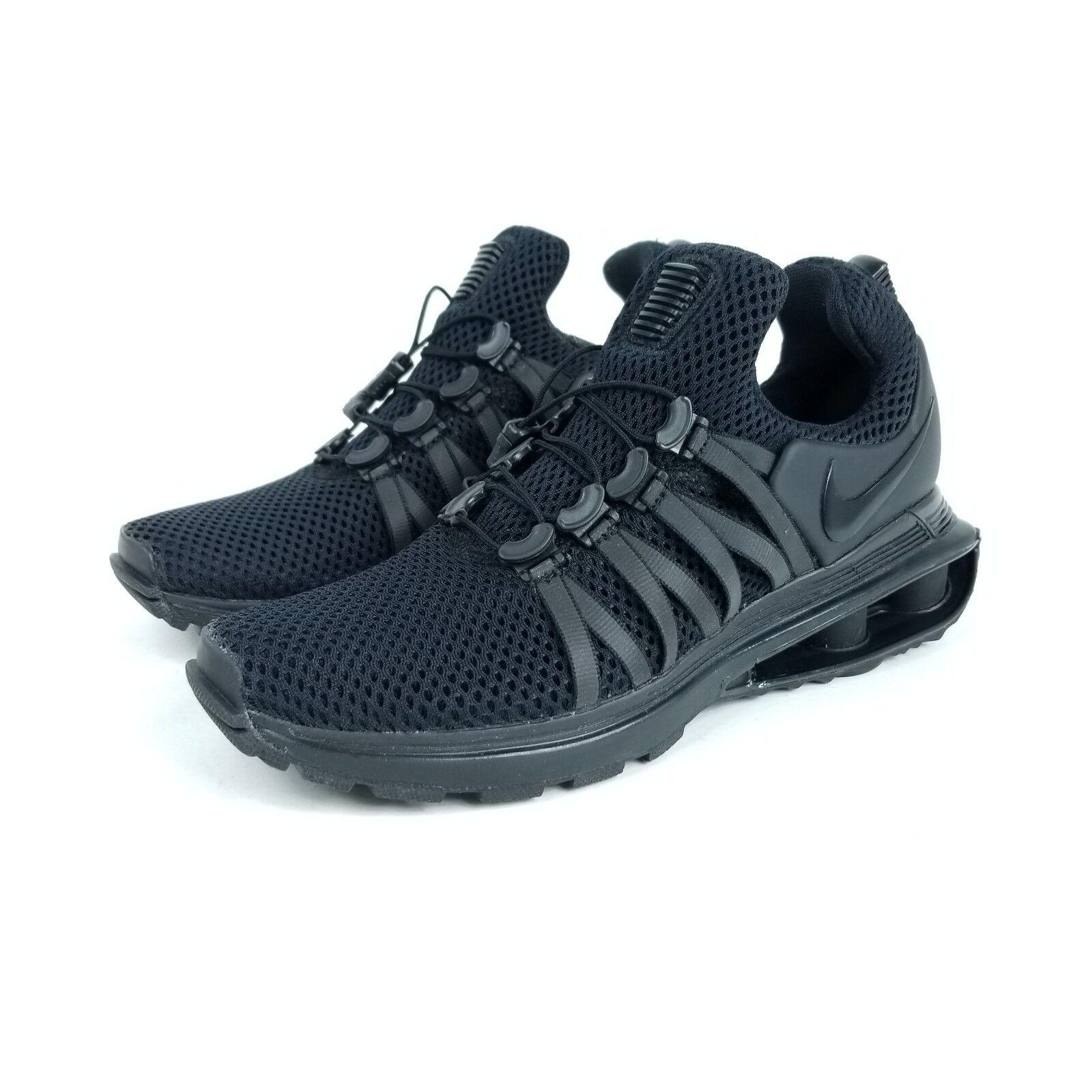 NIKE Shox Gravity Womens Sz 5 Shoes Black AQ8554 001