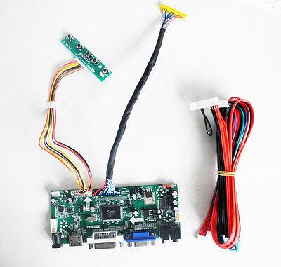 HDMI+DVI+VGA LCD Controller Driver Converter LCD Kit for 1366X768 LC320WXN-SBA1