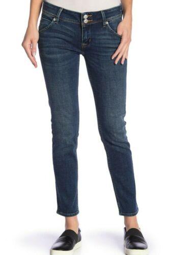Blu Jeans Midrise Sz27 Etichetta Hush Hudson Con Collin Caviglia Nuova Attillati wP0vSq
