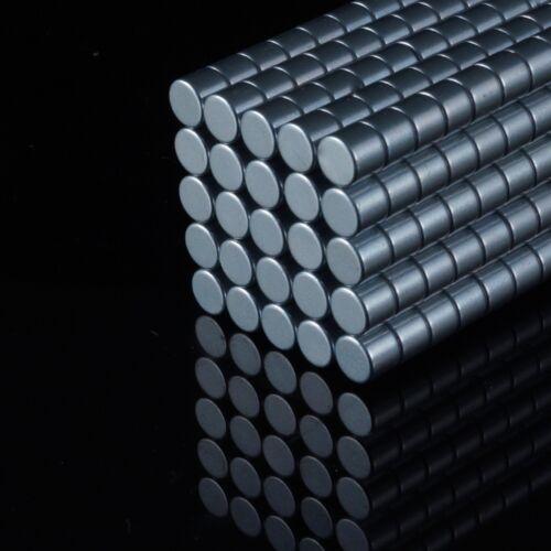 100x Neodym Scheiben Magnete Ø5 x 4 mm N42 870g Haftkraft NdFeB D5x4 mm rund