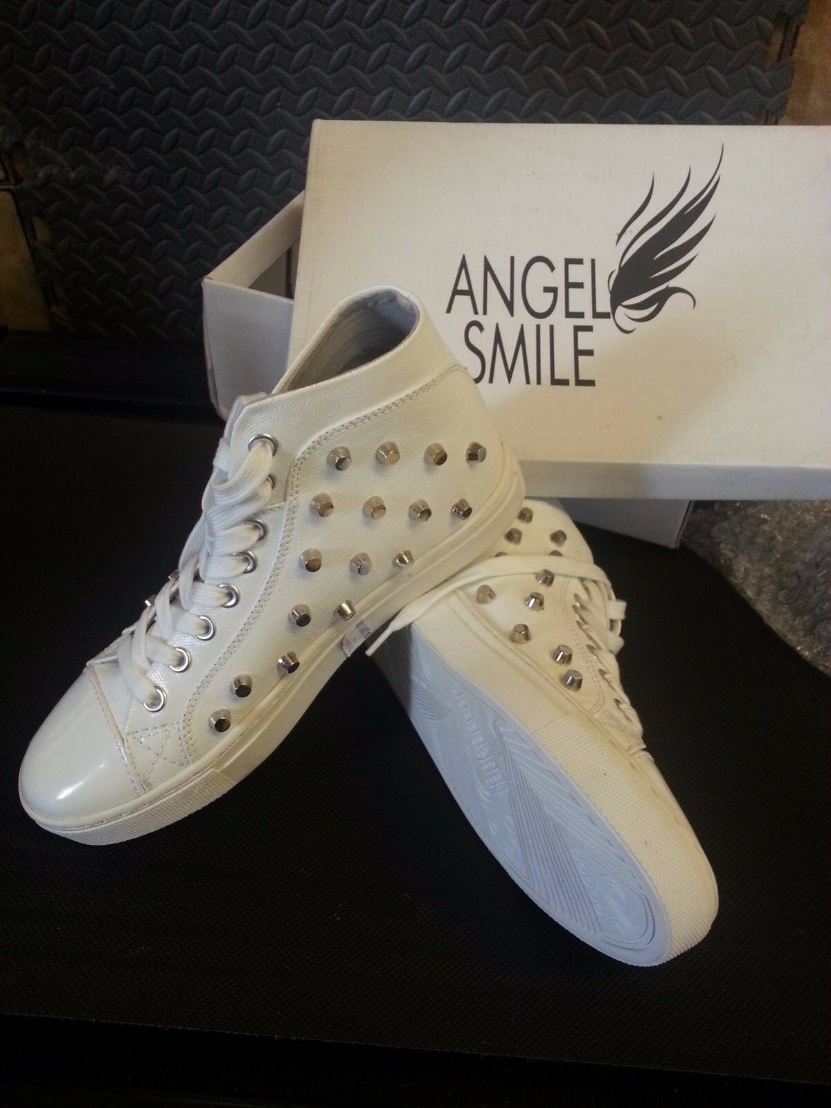 Angle Smile lady's - High-top Weiß trainers - lady's storm wind 56b599