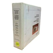 Hp 8753abc Network Analyzer 8702ab Lightwave Component Analyer Service Manual