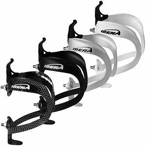 Ibera-Bicycle-4-Colors-Lightweighted-Alloy-Bike-Water-Bottle-Cage-Holder-NEW-BC5