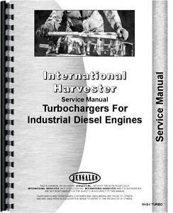 international harvester turbo charger 150 td25c td8e td9 service rh ebay com Dresser Parts International Dozer Parts