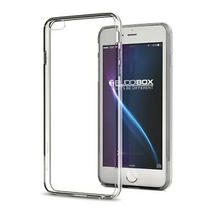 buy online d2ff9 4ad1f Details about for Apple iPhone 6s / 6 Plus Case BUDDIBOX Scratch Resistant  Clear Bumper Cover