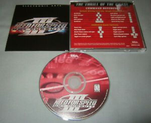 Need For Speed Iii 3 Hot Pursuit 1998 Pc Computer Cd Video Game