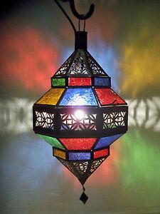 Lustre-plafonnier-marocain-fer-forge-lampe-applique-lanterne-suspension-4