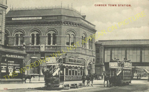 North London Railway. 5 Camden Town Railway Station Photo