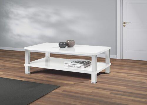 Couchtisch 115x65 Hochglanz lackiert Wohnzimmer Holz Lack Tisch Beistelltisch