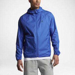 Details zu Air Jordan JSW Wings Windbreaker # 897884 480 Blue Men Sz M 2XL 50% Off