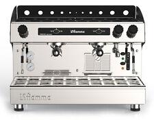 Semi Automatic Commercial 2 Group Espresso Machine Tall Cup Cappuccino Latte