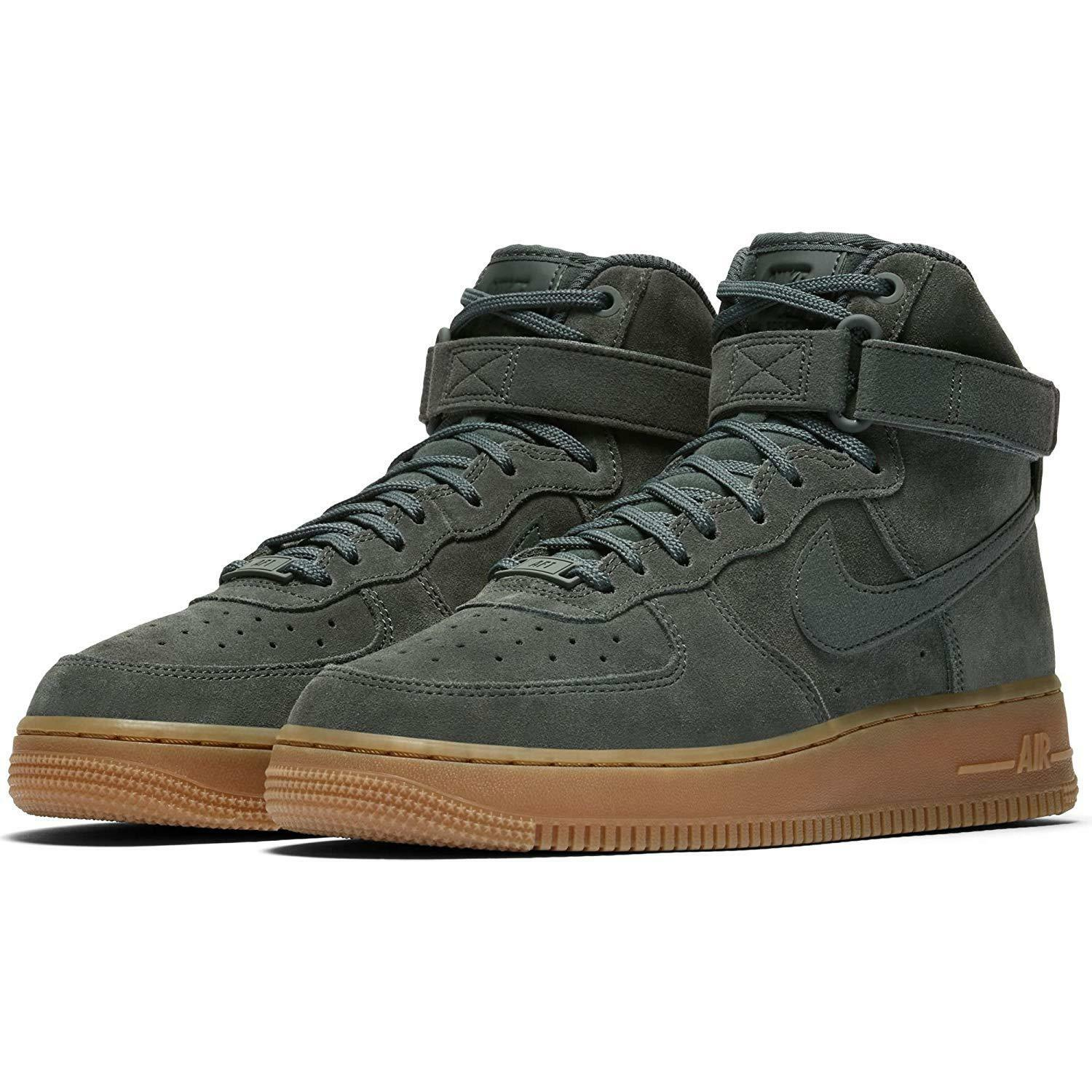 Wmns nike air force 1 hi se donne - dimensioni 7 (860544-301 vintage verde)