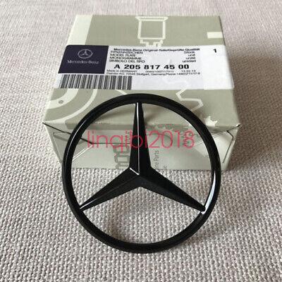 Matte Black A1768170016 Mercedes-Benz A CLA Class Rear Boot Lid Badge Star