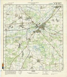 image is loading russian soviet military topographic maps rotenburg germany 1