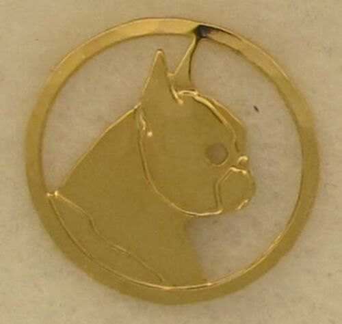 Boston Terrier Jewelry Gold Tie Tac