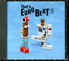 THAT'S EUROBEAT VOLUME 19 - MAXI VERSIONS ITALO JAPAN CD COMPILATION [2408]