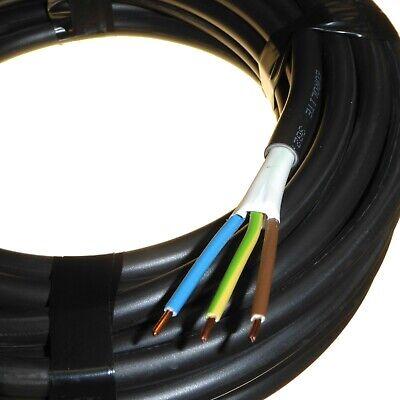 3 Metre Custom Cut Length 2.5 mm 3 Core Hi Tuff PVC Cable