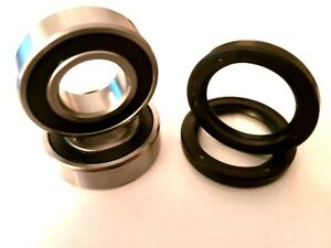 TRIUMPH-SPEED-TRIPLE-1050-2011-2012-X2-FRONT-WHEEL-BEARINGS-WITH-DUST-SEALS