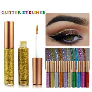 Eyeliner-Liquide-Paillete-7-Couleurs-Glitter-Silver-Gold-Metallic-Eyeliner
