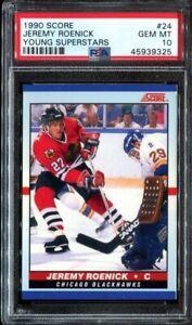 1990-91-Score-Young-Superstars-Jeremy-Roenick-ROOKIE-PSA-10-GEM-MINT-HOF-RC