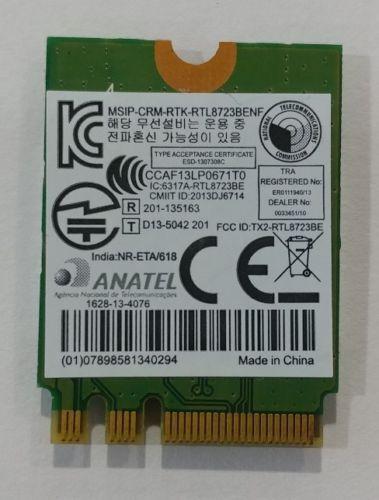 Reaktek RTL8723BEnf RTL8723BE Wireless N Adapter WiFi Card Bluetooth NGFF card