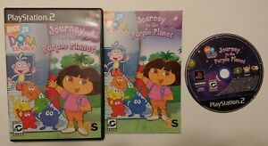 Dora the Explorer: Journey to the Purple  PlayStation 2 PS2 Complete Game Works
