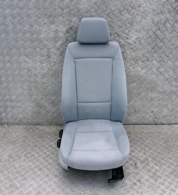BMW 1 Series E87 LCI Cloth Interior Front Right Seat O//S with Airbag Monaco Blue