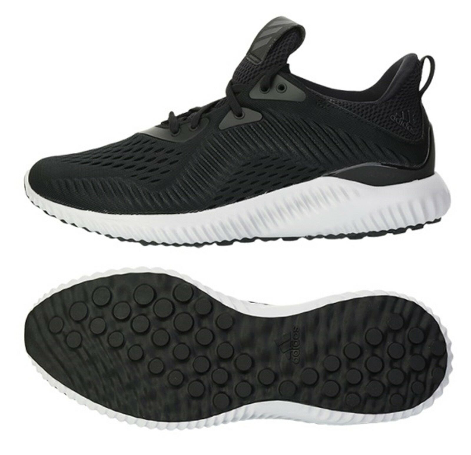 Adidas Hommes Alpha Bounce EM Chaussures d entraînement Running Black GYM Sneakers Chaussure BY4264