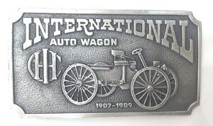 Vintage-Bergamot-belt-buckle-Internal-Auto-Wagon