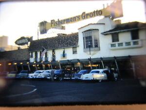 35mm Slide San Francisco CA. PIER   Fisherman's Grotto Wharf  1956-58
