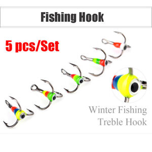8-10-12-14-Carbon-Steel-Ice-Fishing-Hooks-Three-jaw-Hook-Tackle-Tools