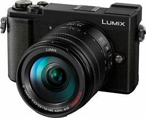 PANASONIC-LUMIX-GX9-Kit-20-30-MP-Objektiv-14-140-mm-f-5-6-7-5-cm-WLAN-Kd-retoure