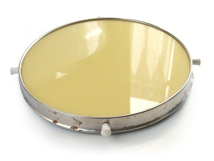 Vintage Tortenplatte Tablett drehbar drehbar drehbar Drehteller Chrom Glas Keramik | Öffnen Sie das Interesse und die Innovation Ihres Kindes, aber auch die Unschuld von Kindern, kindlich, glücklich  4dac8e