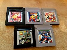 Lot of [5] Five Game Boy Advance: Micro Machines; Ms Pac-Man + 3 more] Fast Ship
