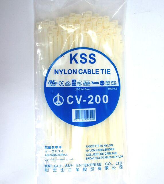 CABLE TIE 142X3.2MM 100 PK # Colour:Natural #