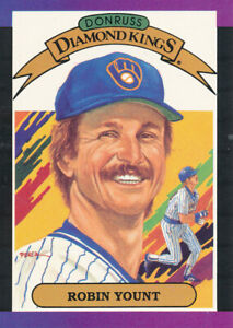 Robin-Yount-1989-Donruss-Diamond-Kings-5-Milwaukee-Brewers-baseball-card