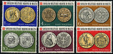 Souvereign Military Order Of Malta 1970 Coins MNH Set #D49470