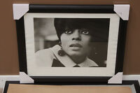 Barrie Wentzell: Diana Ross 1965 Limited Ed 9/50 Print Framed Winnipeg Manitoba Preview
