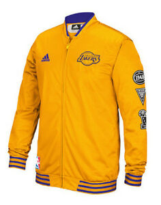Image is loading Los-Angeles-Lakers-adidas-Men-039-s-Official-
