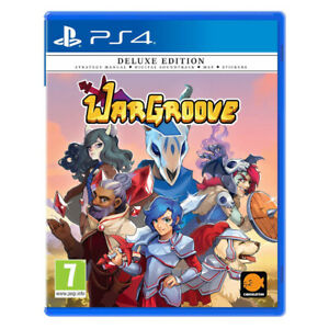 Wargroove-Deluxe-Edition-PlayStation-PS4-2019-EU-English-Factory-Sealed