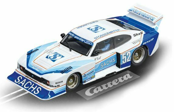 Carrera 1 32 Evolution Ford Capri Zakspeed Turbo  Sachs Sporting, No.52
