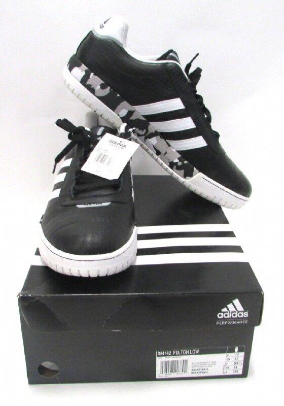 Adidas Fulton Basketball Shoes Sz 18 NWT