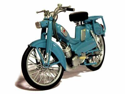 Motobécane AV 65 blau Baujahr 1965 von Norev 1:18 Modell