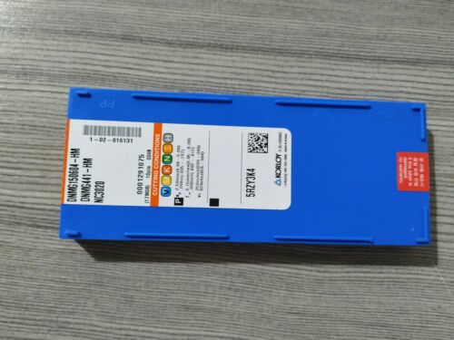 10PCS//Box NEW  Korloy DNMG150604-HM NC3020 Carbide Inserts
