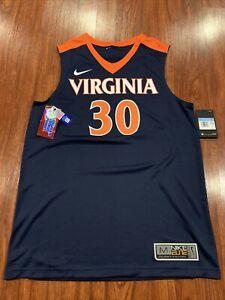 Details about Nike Elite Men's Virginia Cavaliers Basketball Navy Jersey Medium M UVA