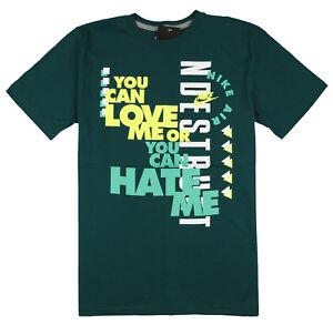 74b29b17333d7 Nike Amame Hate Me Camiseta Talla XL XL Atómico Verde Supernatural ...