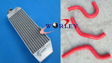 Aluminum Radiator & Hose for Honda CR80 CR80R 1997-2002 CR85 CR85R 2003-2008