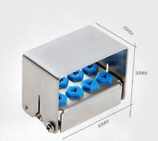 1pc Dental Implant Drills Organizer Holder Case Hp Ra Fg Bur Blocks 8h30