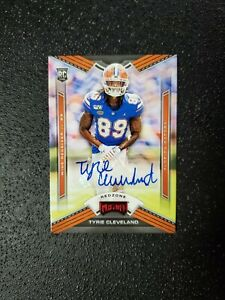 TYRIE-CLEVELAND-2020-PANINI-CHRONICLES-PLAYOFF-ROOKIE-AUTO-REDZONE-SP