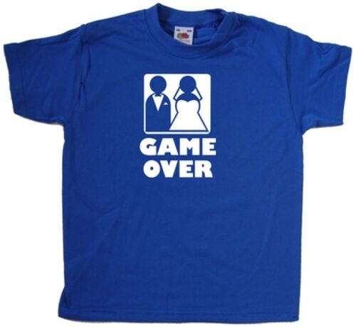 Game Over Wedding Kids T-Shirt